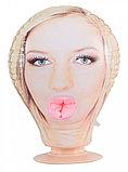 Мастурбатор в виде головы девушки Function Head Georgina S, телесный, фото 2