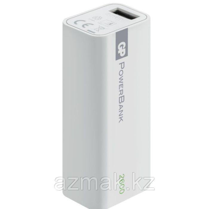 2600 мАч. Портативное зарядное устройство GP Power Bank