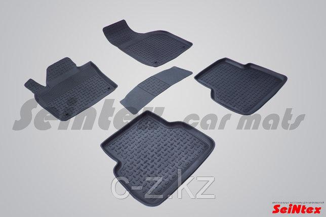 Резиновые коврики с высоким бортом для Audi Q3 2011-2018, фото 2