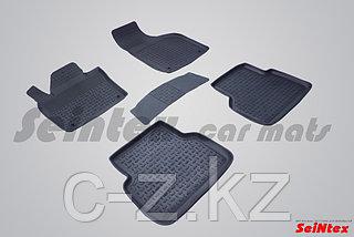 Резиновые коврики с высоким бортом для Audi Q3 2011-2018