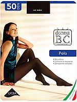 Polo 50 колготки из мультифибры, Donna BC moka 1/2 -S/M