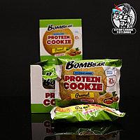 BombBar - Низкокалорийное протеиновое печенье 1шт/60гр Арахис