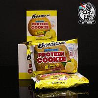 BombBar - Низкокалорийное протеиновое печенье 1шт/60гр Лимон