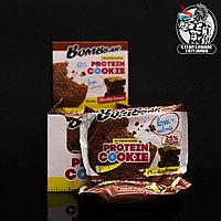 BombBar - Низкокалорийное протеиновое печенье 1шт/40гр Шоколадный Брауни