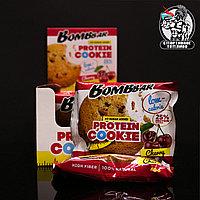 BombBar - Низкокалорийное протеиновое печенье 1шт/40гр Вишня