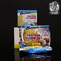 BombBar - Низкокалорийное протеиновое печенье 1шт/40гр Кокос