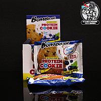 BombBar - Низкокалорийное протеиновое печенье 1шт/40гр Черная смородина