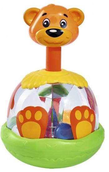 Игрушка-погремушка «Медведь с шарами»