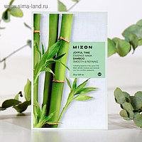 Тканевая маска для лица с экстрактом бамбука MIZON Joyful Time Essence Mask Bamboo, 23 г