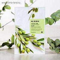 Тканевая маска для лица с экстрактом оливы MIZON Joyful Time Essence Mask Olive, 23 г
