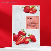 Тканевая маска для лица с экстрактом клубники MIZON Joyful Time Essence Mask Strawberry, 23 г
