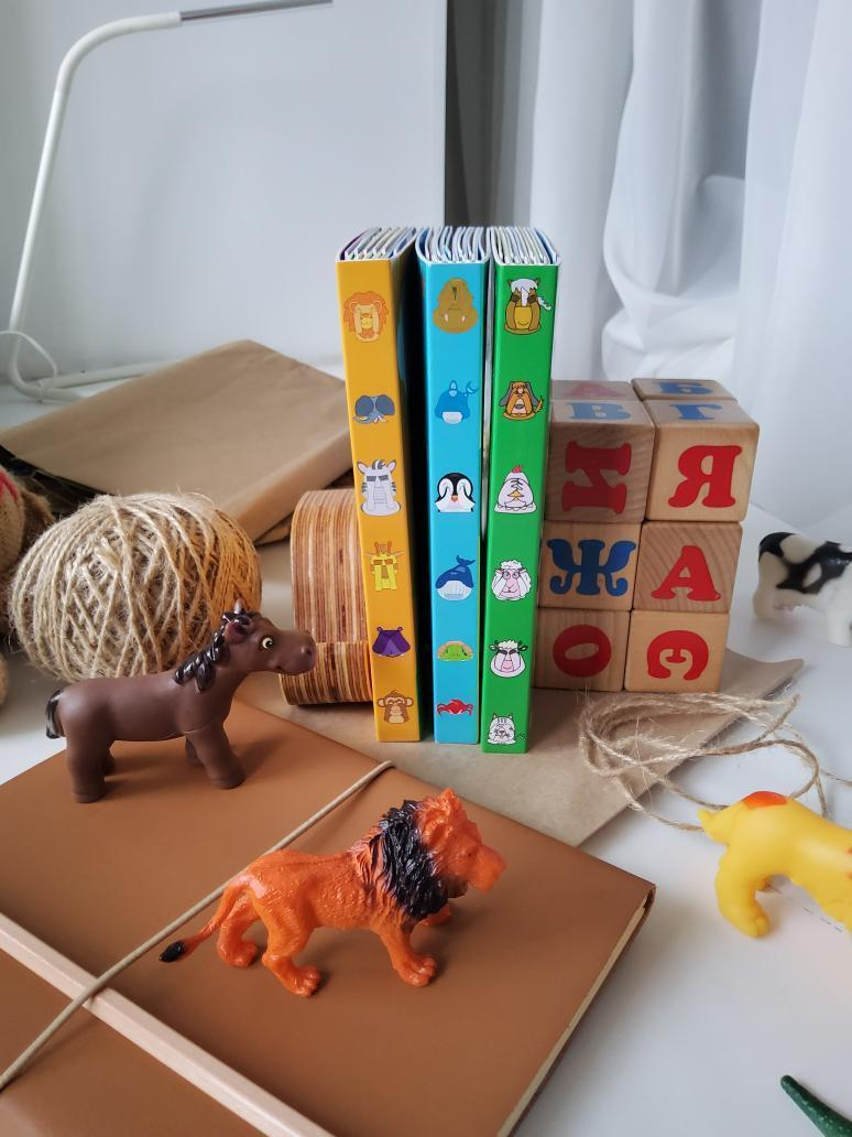 "Детские книжки ""Животные Африки"" - фото 2"