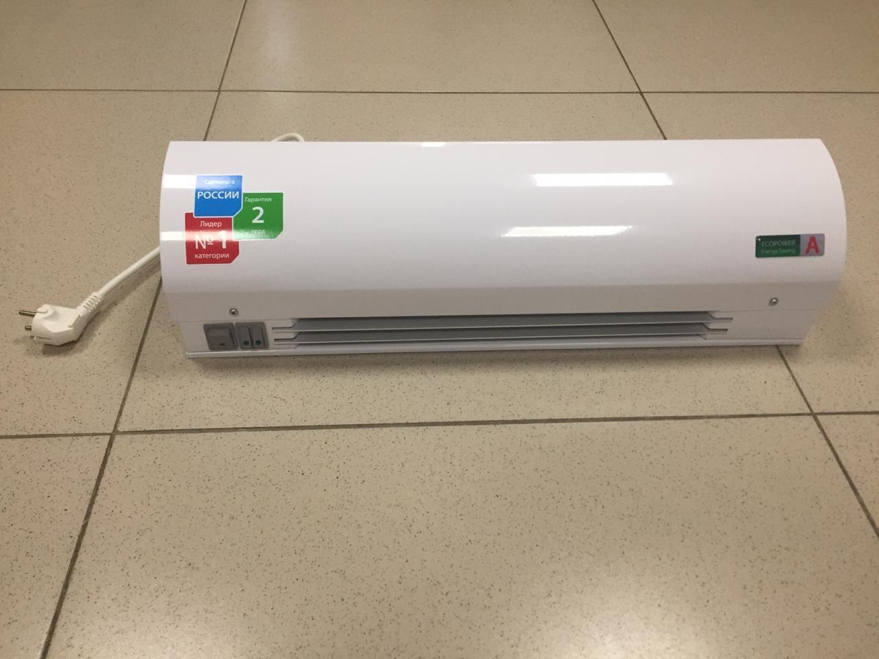 Бактерицидный облучатель-рециркулятор, с тепловой завесой, с бактерицидной лампой Philips 25W