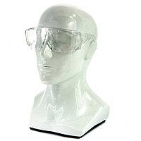 Очки защитные открытого типа,прозрачные, ударопрочный поликарбонат, Сибртех