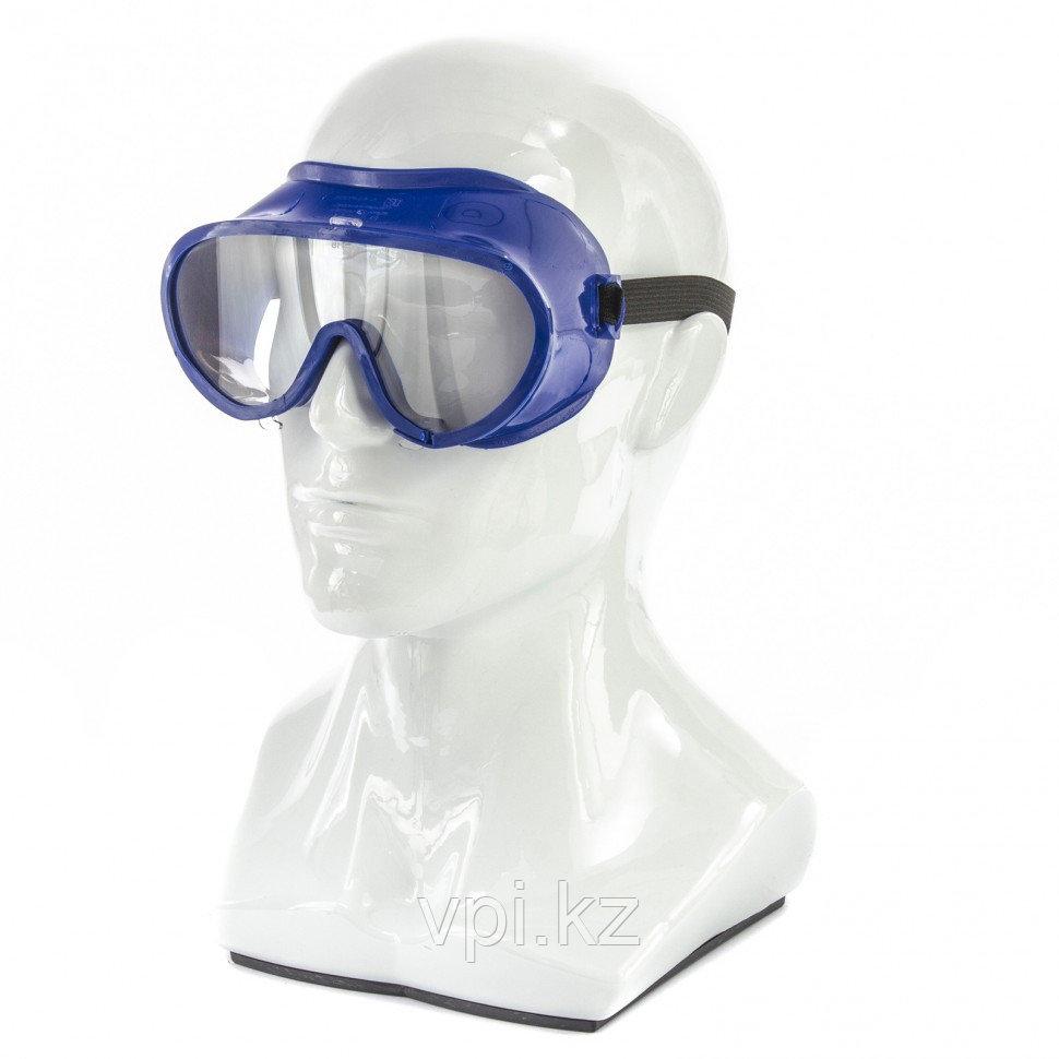 Очки защитные закрытого типа, герметичные, поликарбонат, Сибртех