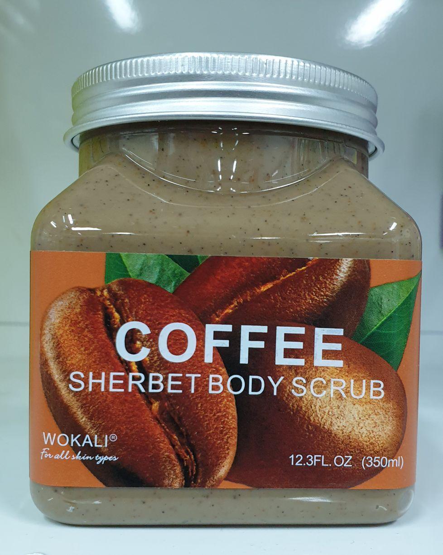 Скраб для тела SHERBET BODY SCRUB COFFEE 350 ml.