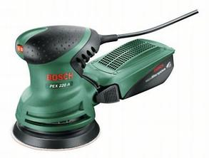 """Эксцентриковая кругло-шлифовальная машина """"Bosch"""" PEX 220 A"""