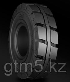 Шина 5.00-8 цельнолитая (массивная) (std, с бортом, easyfit, click) BKT Maglift Non-mark (немаркая)