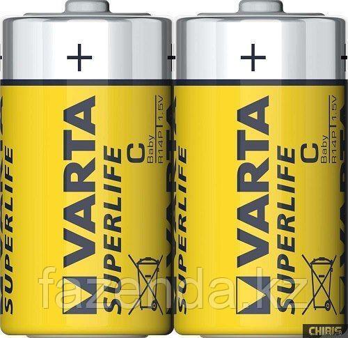 Батарейка Varta Super Baby С, 2шт