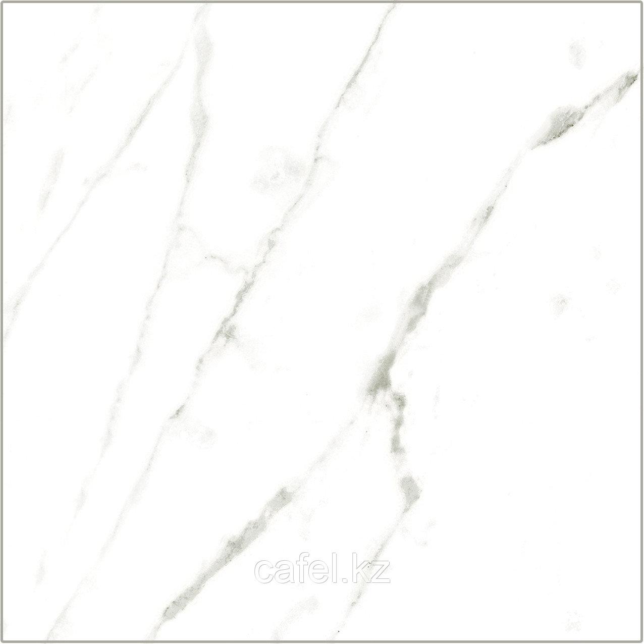 Керамогранит 45х45 Rome | Роме белый с серыми прожилками