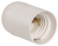 Патрон электрич. E27 Ппл27-04-К02 подвесной пластик бел. (с этикет.) ИЭК EPP10-04-01-K01