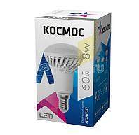 Лампа светодиодная R50 8Вт 220В E14 3000К Космос Lksm_LED8wR50E1430