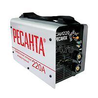 Инвертор сварочный САИ-220 220А d5 140-240В IP21 горячий старт Ресанта 65/3