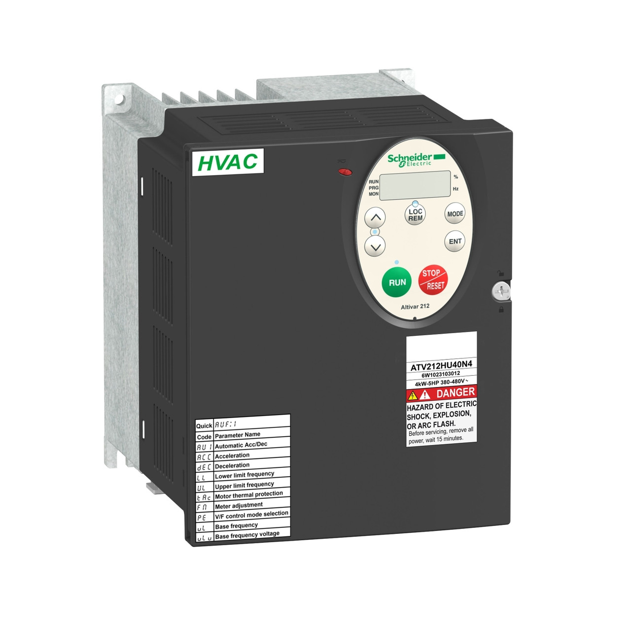 Частотный преобразователь ATV212 4квт 480В IP21 /ATV212HU40N4/