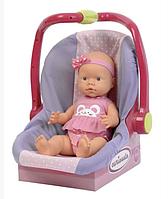 Кукла в автокресле, 40 см (Falca, Испания), фото 1