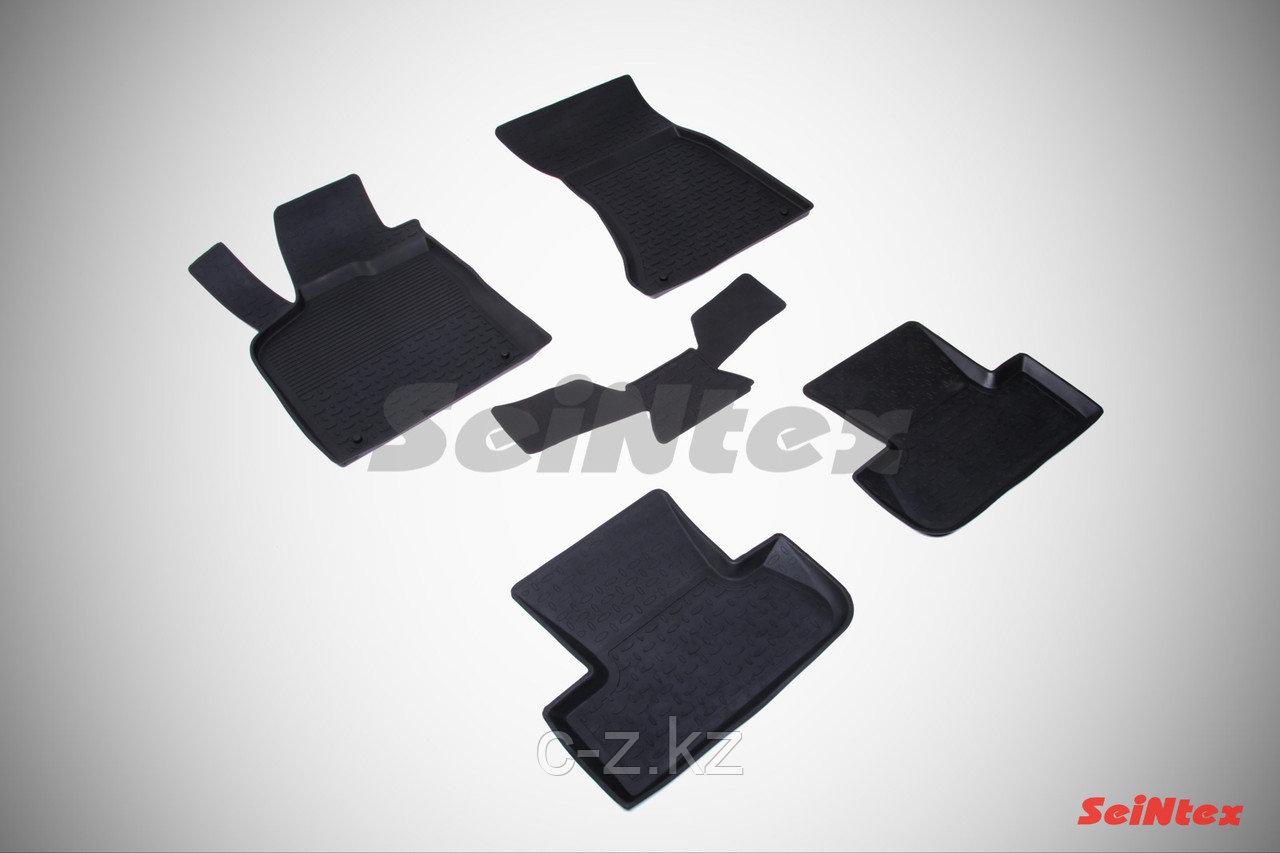 Резиновые коврики с высоким бортом для Audi Q5 2010-2017