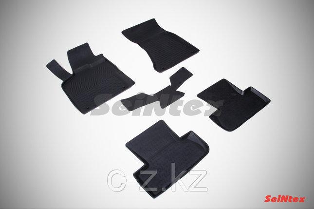 Резиновые коврики с высоким бортом для Audi Q5 2010-2017, фото 2