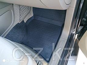 Резиновые коврики с высоким бортом для Audi Q7 2005-2015, фото 3