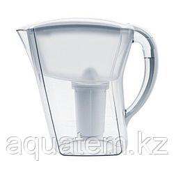 Кувшин Аквафор Аквамарин (2 картриджа в комплекте) белый))