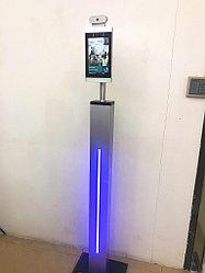 Система контроля посещений SV-1081D Вертикальный Модуль с функциями измерения температуры и распознавания лиц