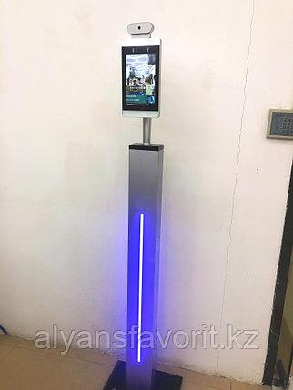 Система контроля посещений SV-1081D Вертикальный Модуль с функциями измерения температуры и распознавания лиц, фото 2