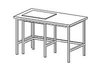 Антивибрационный лабораторный стол