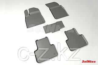 Резиновые коврики с высоким бортом для Audi Q7 2015-н.в.