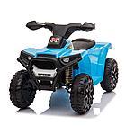 Детский электро-квадроцикл PITUSO 68*42*45 см, синий/BLUE