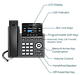 IP телефон Grandstream GRP2612W, фото 4