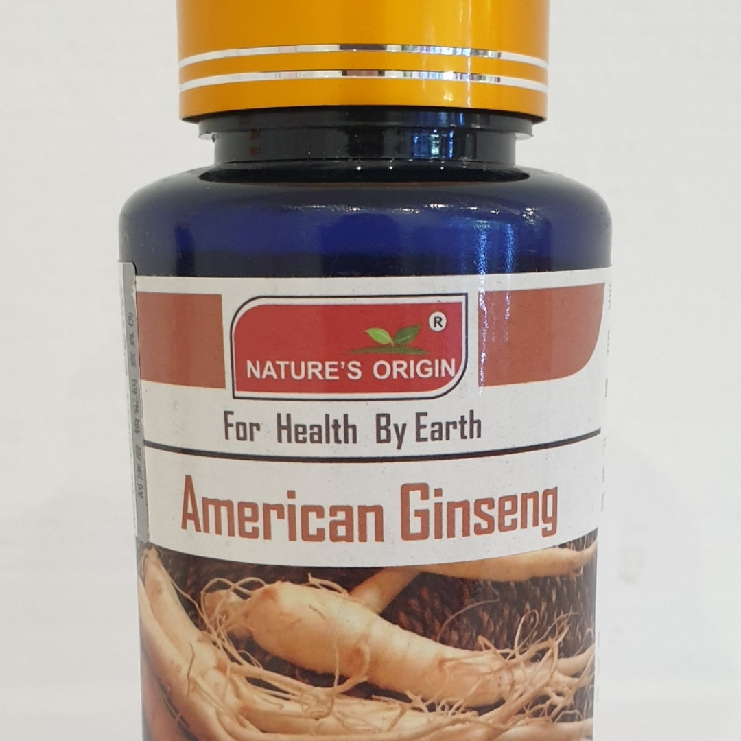 Американский женьшень, 500 мг, 100 капсул