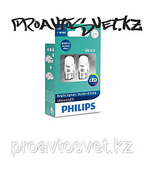 LED PHILIPS T10 W5W 6000K Vision 12V 11961ULWX2