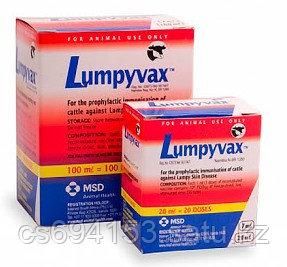 Люмпивакс (Lumpyvax): Вакцина против нодуляроного дерматита КРС