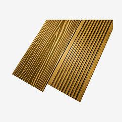 Террасная доска UnoDeck Solid 154×20 мм (Орех)