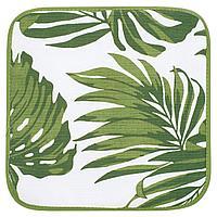 Подушка на стул Leaves, листья, зеленый