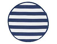 Подушка на табурет Sea breeze, полоска, синий