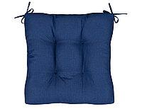 Подушка на стул Bluebird, без рисунка, синий