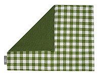 Салфетка под приборы Green check, клетка, зеленый
