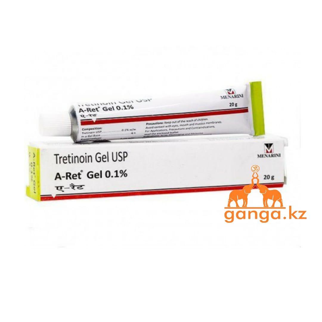 Ретин-А Третинион Гель 0.1% (A-Ret Tretinion Gel U.S.P.), 20 г.