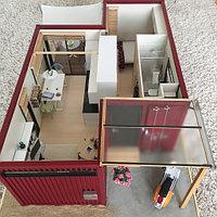 Модульные дома из 40 футовых контейнеров