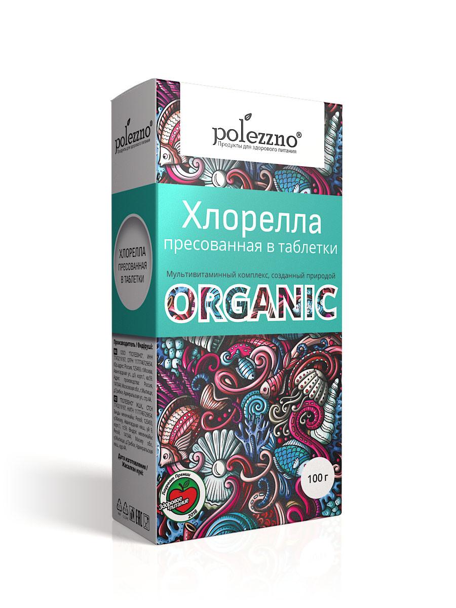 Polezzno Хорелла органическая таблетки - фото 1